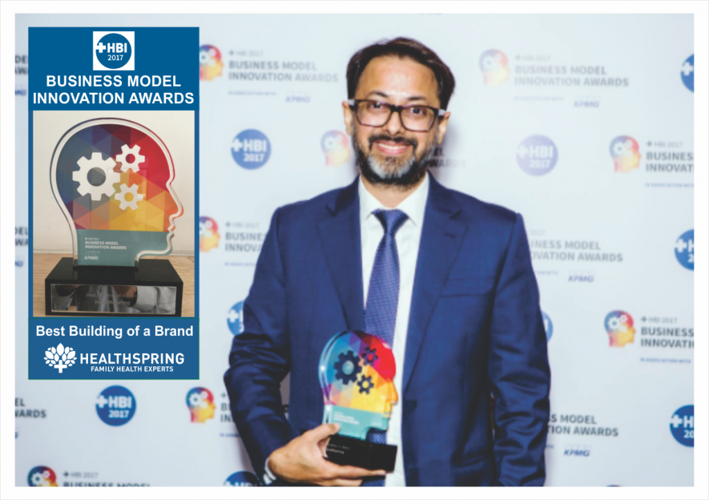 Healthspring wins 'Best Building of a Brand'