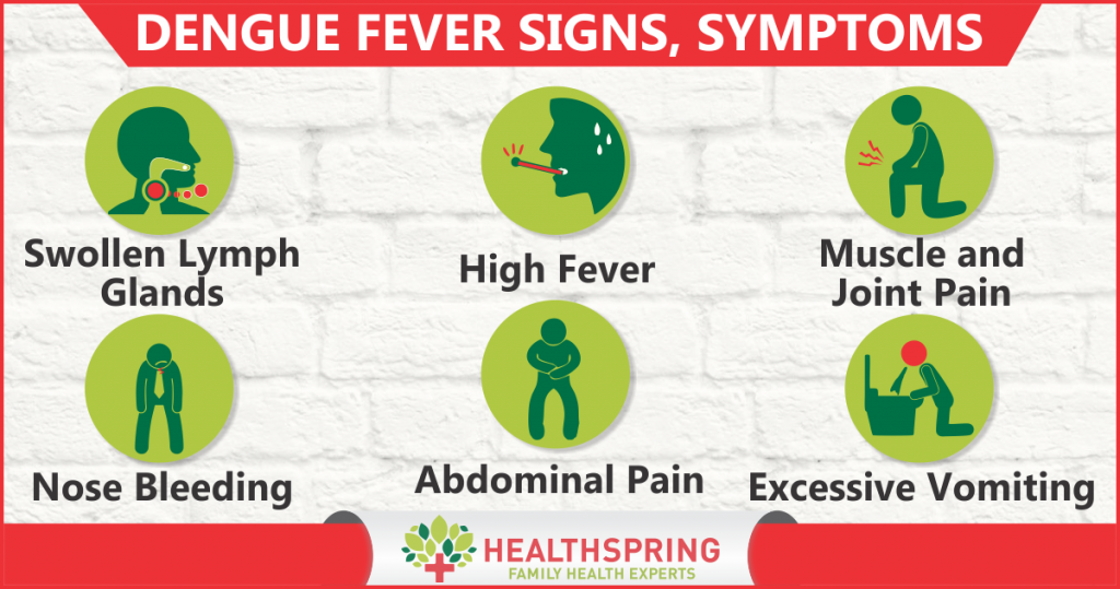 Dengue Fever Signs & Symptoms